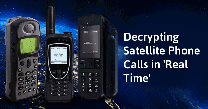 Satellite Phone Encryption Calls Can be Cracked in Fractions of a Second