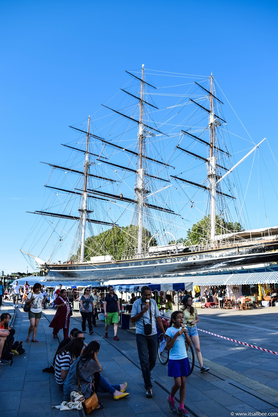 20 Of London's Unmissable Tourist Sights To Add To Your Itinerary Now | Cutty Sark London Greenwich