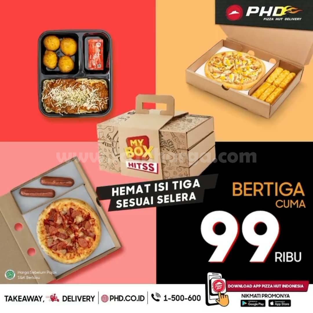 PHD Promo Makan Bertiga! Harga cuma Rp 99 Ribu