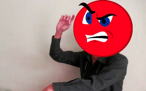 cowok sensitif dan gampang marah