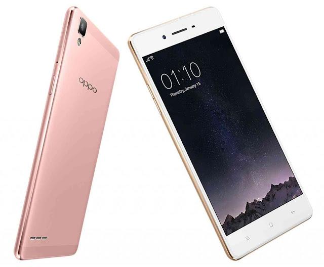 Oppo F1, Smartphone Octa Core RAM 3GB Kamera 13MP