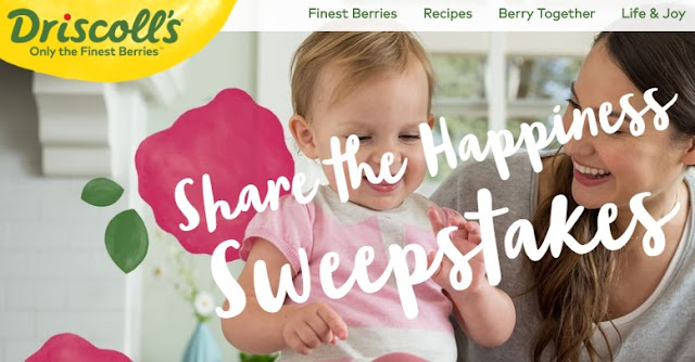 Driscoll's Share the Happiness Sweepstakes