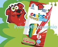 Logo Promozione ''Fruittella 2020'': ricevi una confezione di pennarelli Carioca (premio certo)