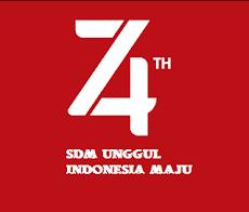 REVISI Tema Dan Logo Kemerdekaan Indonesia Yang Ke 74 Tahun 2019
