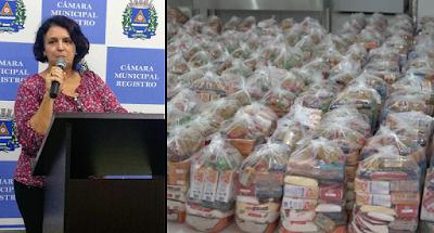 Kits merenda escolar: Ver. Sandra recorre à Justiça para garantir que todos os estudantes municipais recebam os alimentos