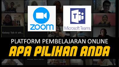 Apa Beza Antara Zoom Apps Dengan Microsoft Teams? Ini Kata Cikgu Amimah