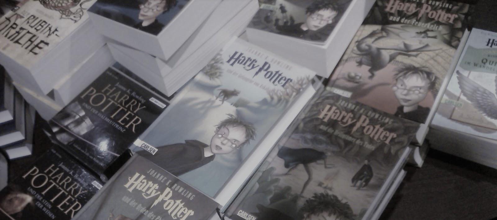 Como Harry Potter é o livro juvenil mais volumoso da Alemanha?