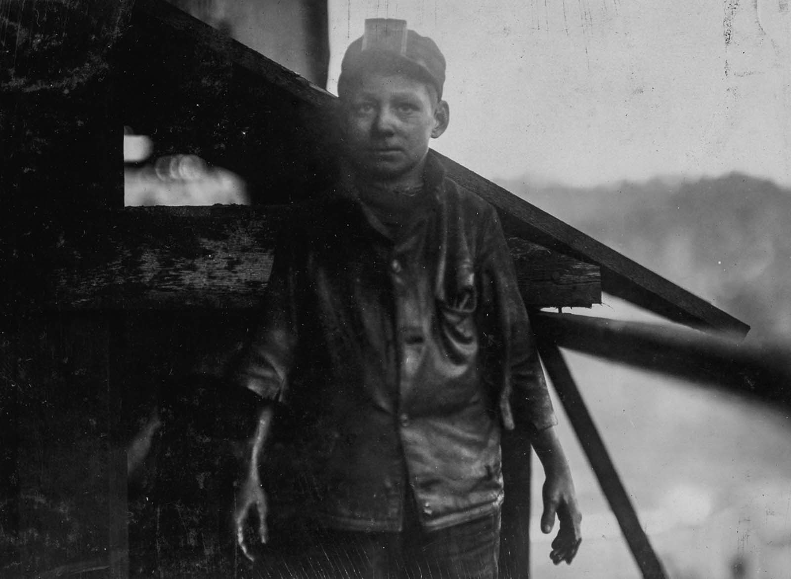 Shorpy Higginbotham, a worker at Bessie Mine in Alabama. 1910.