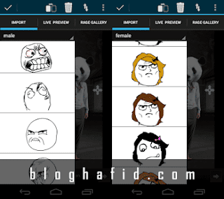 Aplikasi android rage comic maker