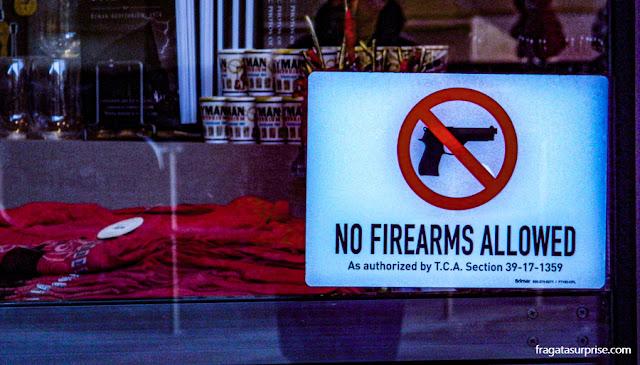Armas de fogo em Nashville