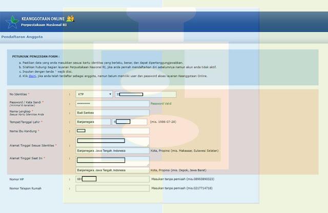 Formulir Pendaftaran - udibaracom