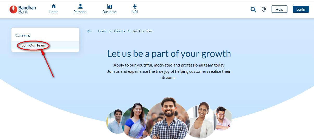 apply for Bandhan Bank Job