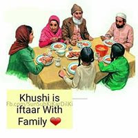 ramzan with family