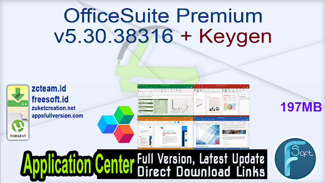 OfficeSuite Premium v5.30.38316 + Keygen