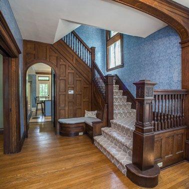 Desain Tangga Rumah Mewah Klasik