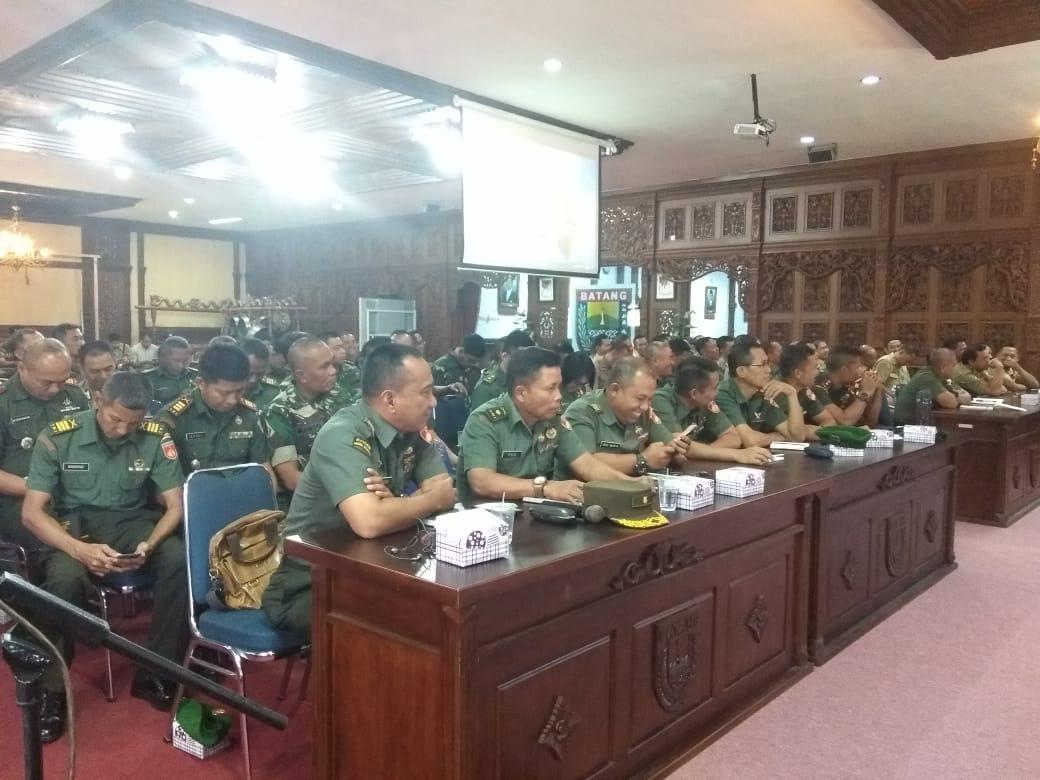 Rapat Koordinasi Serbuan Teritorial Dalam Rangka HUT TNI ke -74 Dan HUT Kodam IV Diponegoro ke - 69