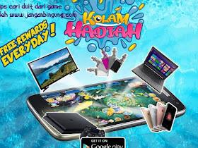 Kolam Hadiah, Game Mancing Ikan Berhadiah Jutaan Rupiah Setiap Hari - Responsive Blogger Template