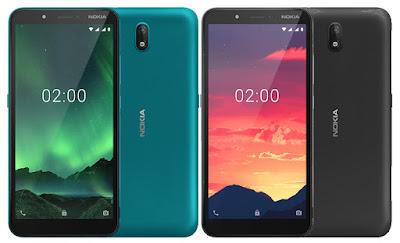 الأعلان عن Nokia C2 بشاشة 5.7 بوصة وسعر رخيص
