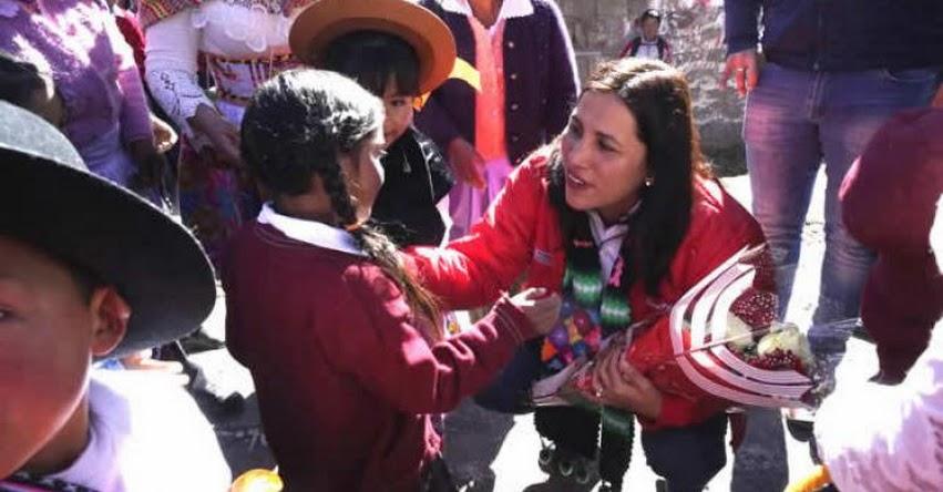 MINEDU: Ministra Flor Pablo inaugura nueva infraestructura de tres colegios de Huancavelica - www.minedu.gob.pe