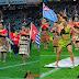 Menampilkan Budaya Pasifik, Bendera Papua Merdeka Ikut Berkibar di Allianz Stadium