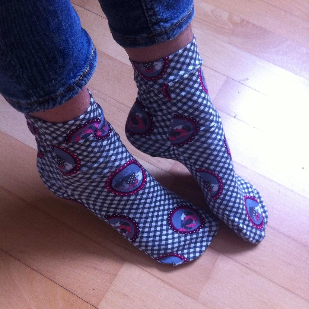 Be pretty by Beate: Socken nähen