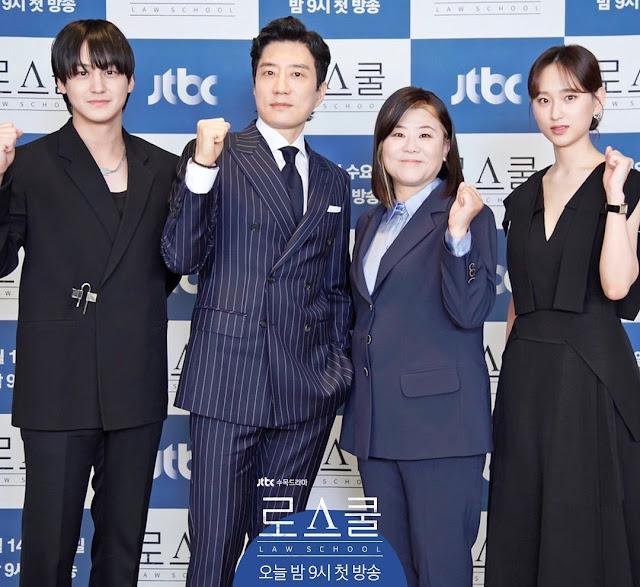 Daftar Nama Pemain Drama Korea Law School 2021 Lengkap