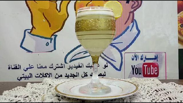 طريقة عمل عصير الليمون الشيف محمد الدخميسي