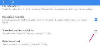 how to hide any video in mx player? fnhindi.com