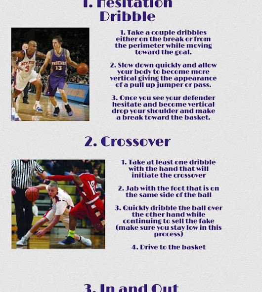 5 Essential Basketball Moves