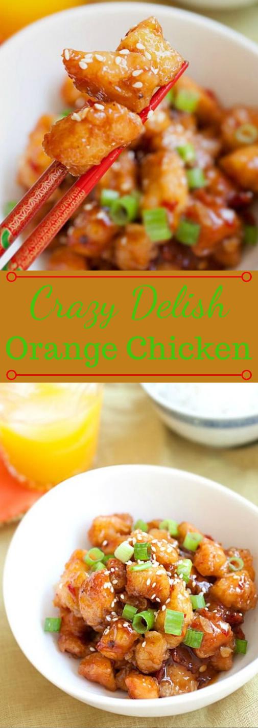 ORANGE CHICKEN #chicken #vegetarian #cauliflower #food #dinner