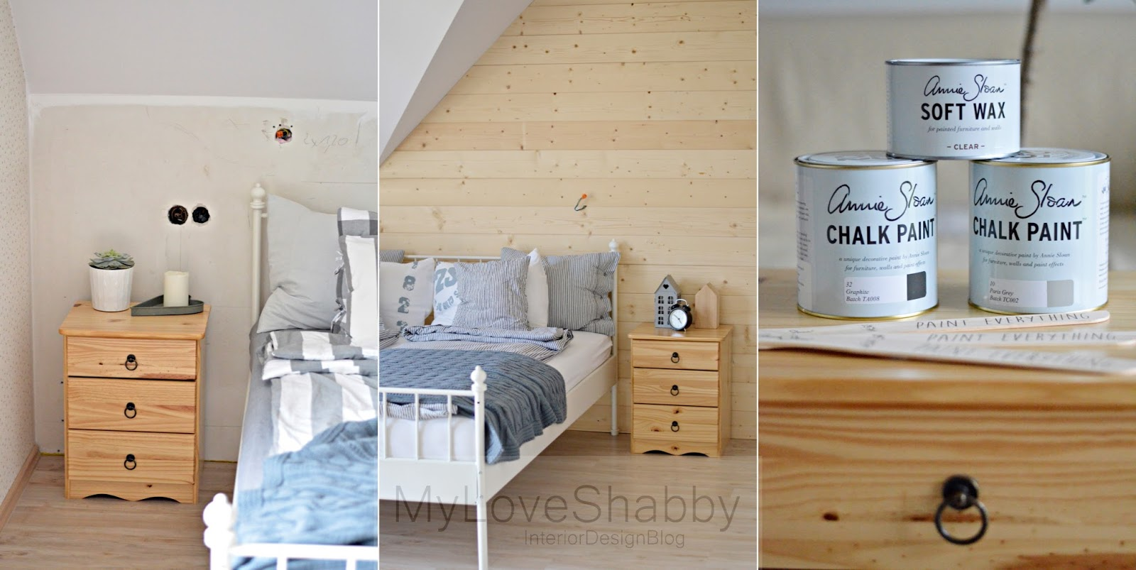 sypialnia w stylu nordic