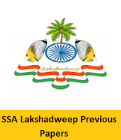 SSA Lakshadweep Previous Papers