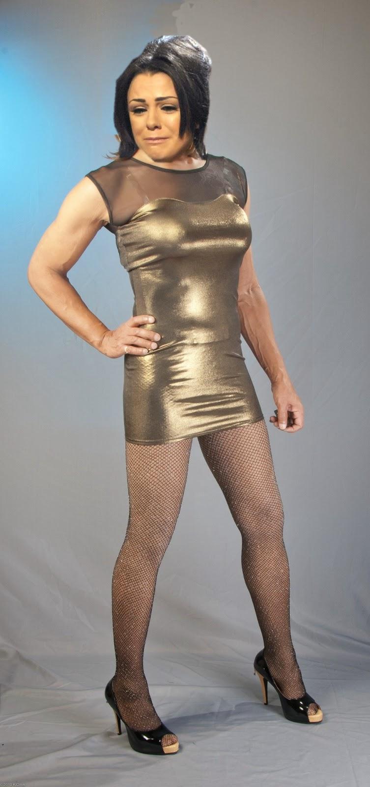 Celebrity Transvestite Fakes Sian Lloyd