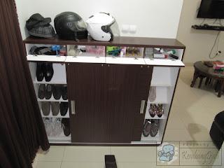 Furniture Rumah - Lemari Pakaian Besar Plus Meja Rias dan Rak Sepatu Pintu Geser - Furniture Semarang