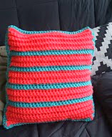 http://www.ravelry.com/patterns/library/colorful-striped-pillow