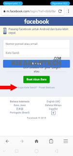 Cara Mudah Mengembalikan Akun Facebook Yang Di Hack  Di Bajak