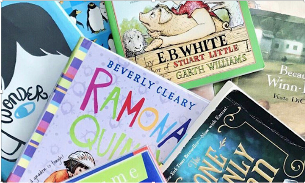 Cover image of a pile of 10 novel on the 3rd grade level