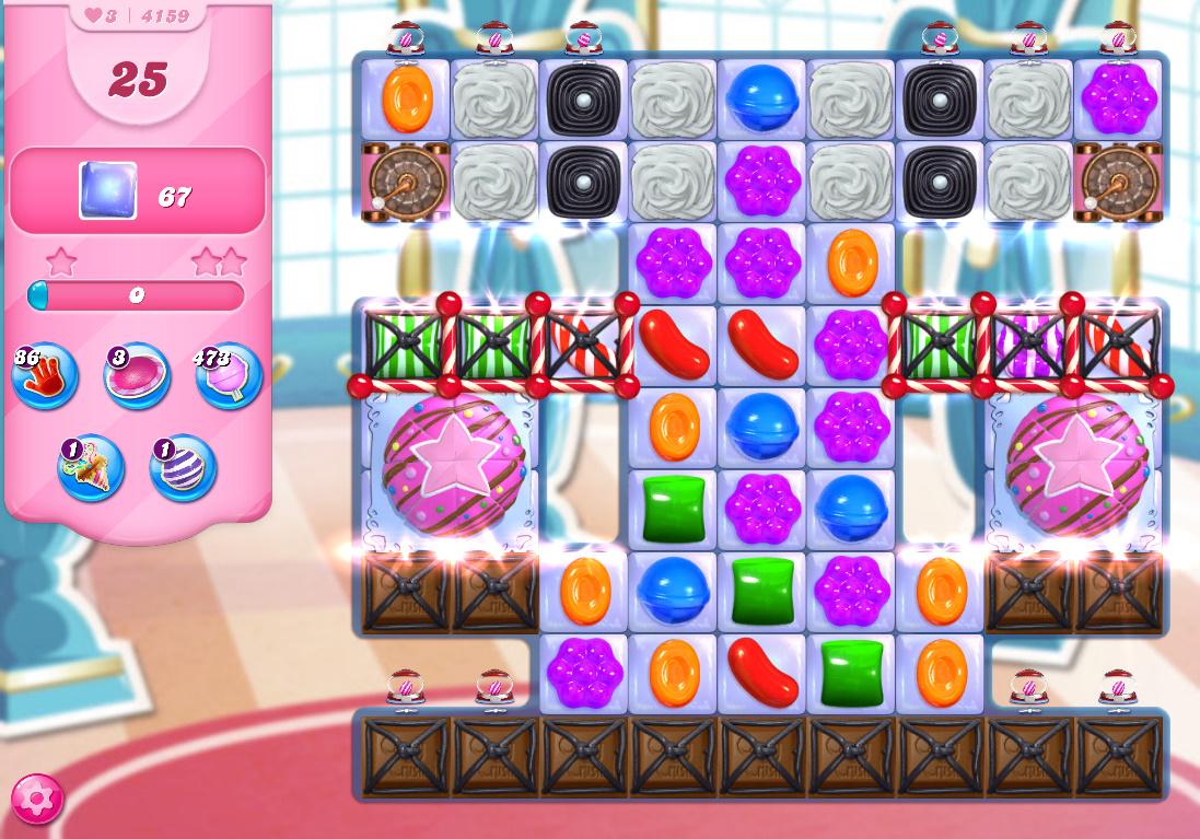 Candy Crush Saga level 4159