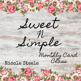 Sweet 'N Simple Card Class - Pittsburgh area handmade card class by Nicole Steele The Joyful Stamper