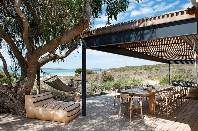 A former fisherman's house in a South African nature reserve