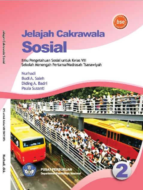 Download Buku Siswa KTSP SMP dan MTs Kelas 8 Jelajah Cakrawala Sosial 2