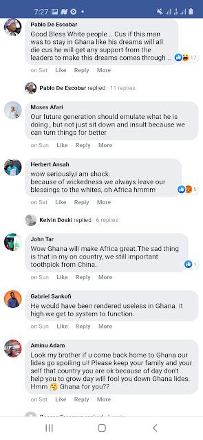 Ghanaian Genuis Reactions