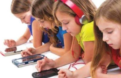 هام الهواتف الذكية تؤثّر في صحة الأطفال العقلية