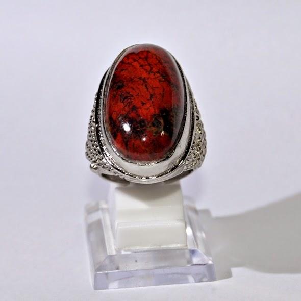 Batu Akik Badar Besi Merah Termahal