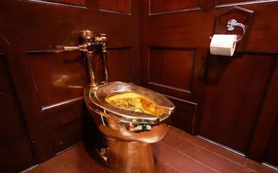 Gold Toilet Stolen From U.K's Blenheim Palace
