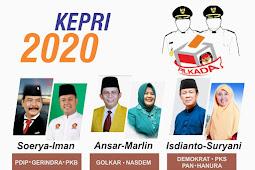 Contoh Spanduk pilkada Kepri 2020