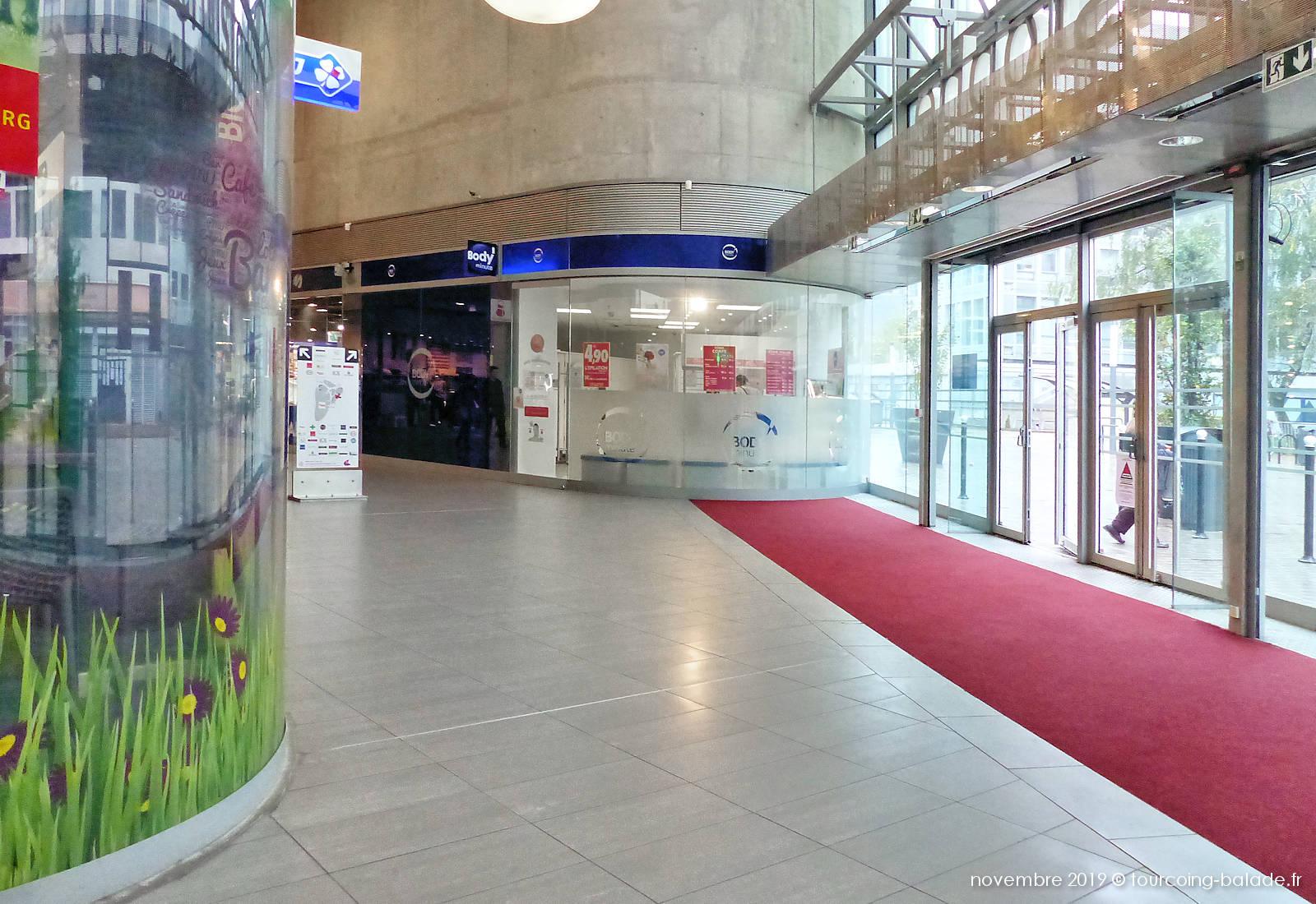 Centre Commercial Saint-Christophe, entrée Fraternité.