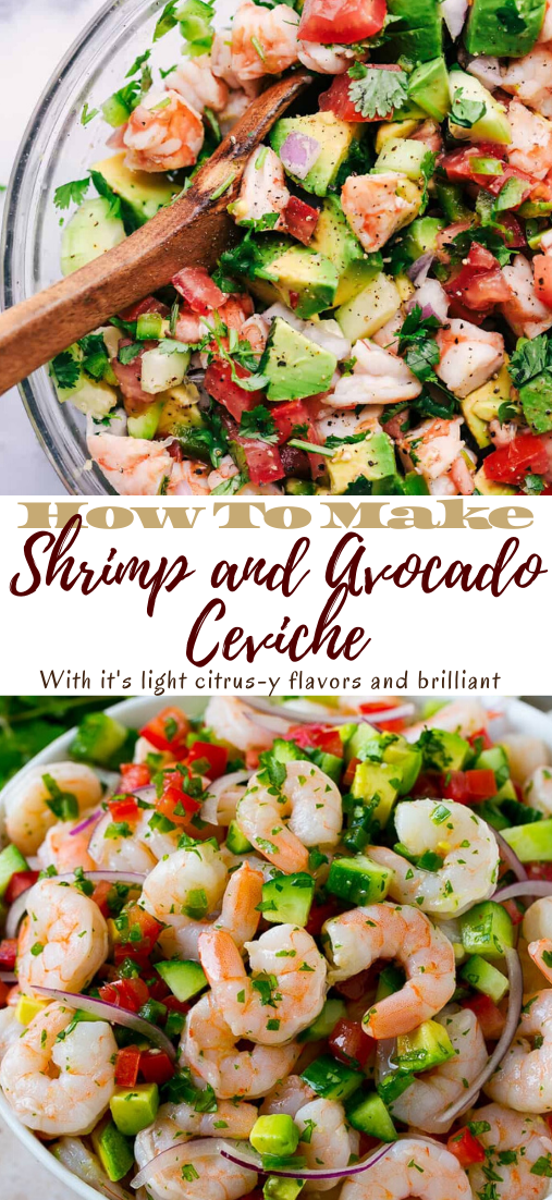 Shrimp and Avocado Ceviche #food #lunchrecipe #vegan #vegetarianrecipe #easyrecipe
