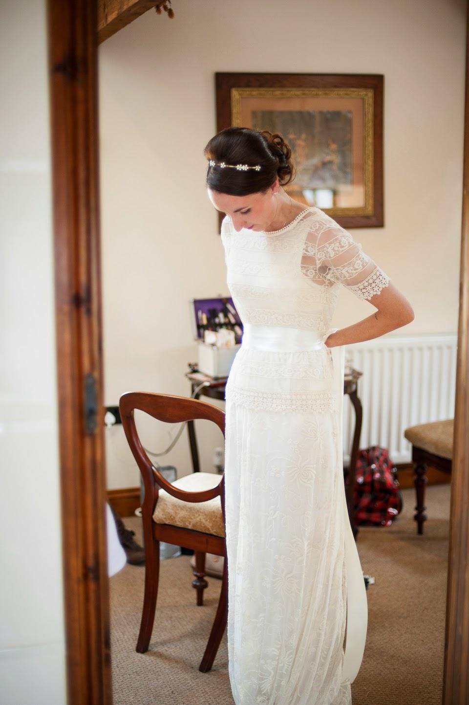 Diy con vestido de novia