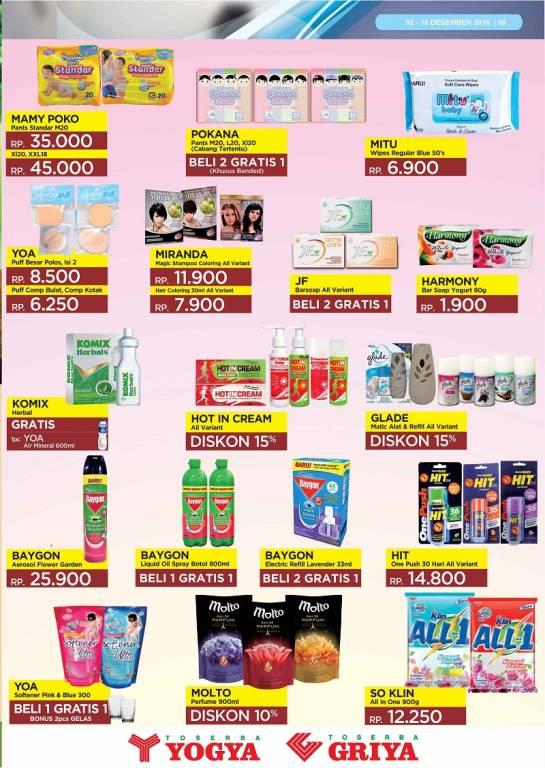 Katalog Promo Toserba Yogya 2 - 15 Juni 2017